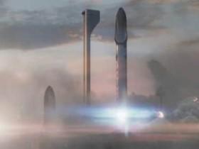 马斯克展示SpaceX计划新研究:在火星上建立自给自足的城市