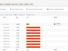 WordPress 安全插件推荐:WP Cerber Security
